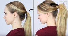 Most of us think of ponytails as that thing we do with our hair when we're working out, cleaning, running errands or just avoiding the hassle of a hairstyle. With just a few easy tweaks, though, it can be an extra-special look WITHOUT extra-special time...