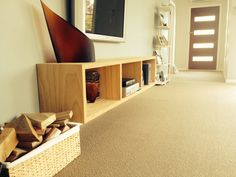 Floating tv unit ~ply wood