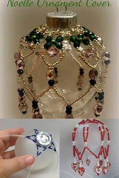 Excellent No Cost beaded ornament Strategies In architecture and elaborate artwork, decoration is really a beautification employed to embellish parts of a creating Beaded Christmas Decorations, Victorian Christmas Ornaments, Christmas Baubles, Handmade Christmas, Crochet Christmas, Christmas Cover, Beaded Ornament Covers, Beaded Ornaments, Ornaments Ideas