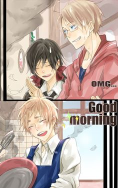 Good morning~! X3
