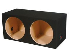 """Q Power Q-Power 15"""" Dual Sealed Subwoofer Box / 34 x 16.5 x 13 SOLO15-2HOLE,    #Q Power 8-Inch Subwoofers"""