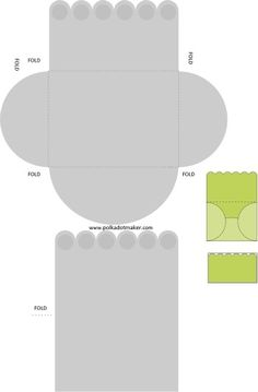 free template, scalloped card, scalloped envelope, invitation, greeting card, invitation templates free