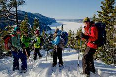 Parc national du Fjord-du-Saguenay, randonnée pédestre , Saguenay-Lac-St-Jean