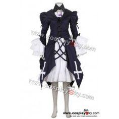 Rozen Maiden Suigintou Mercury Lampe Cosplay Costume | CosplaySky.com
