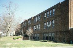 View, Hillcrest Elementary School, Burlington, Alamance County, North Carolina. From NCSU Libraries