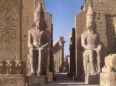 Temple of Thebes, Luxor, Egypt.