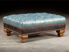 Luxurious Paul Robert Furniture At Luxedecor Tufted Ottoman Home On The Range