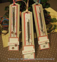Wunderkerzenverpackung - Geschenke für unsere Downlines - Anleitung auf unserer Homepage