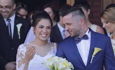 """""""Klasyczny i bardzo romantyczny zwiastun ślubny Bartka i Darii o zniewalającym uśmiechu. Zapraszamy do oglądania"""" - GreenArtStudio"""