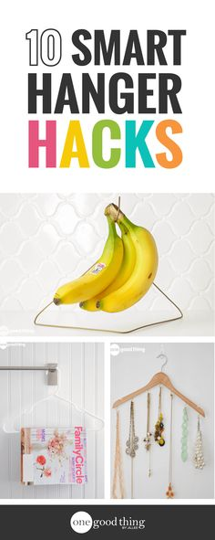 Got a few extra hangers in your closet? Put them to work! Here are 10 brilliant and unexpected ways to use hangers around your house.