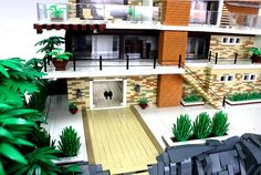 LEGO Residence Point Dume #LEGO by Cesbrick on Flickr.