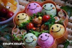 charaben   ご飯の色づけ方法と味付け方法を簡単に説明させて ...