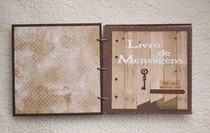 livro mensagem casamento