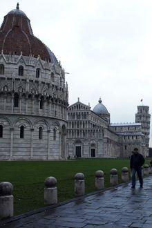 Baptisterio, Catedral y Torre Inclinada de Pisa, Italia
