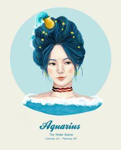 Aquarius ~ The Water-bearer