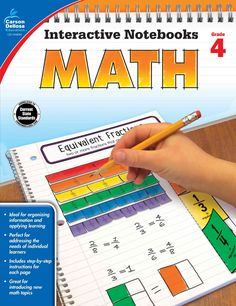 Time-Saving templates that allow students to show what they know!In Interactive Notebooks: Math for fourth grade, students will complete hands-on activities about place value, multiplication and divis