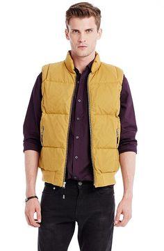 Mesh Puffer Vest - Outerwear - Mens - Armani Exchange