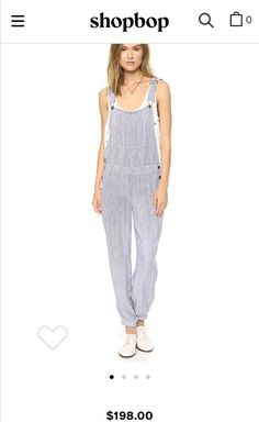 46e928be78dc Xl Splendid Pinstripe Overalls NWT-  198  fashion  clothing  shoes   accessories  womensclothing  jumpsuitsrompers  ad (ebay link)
