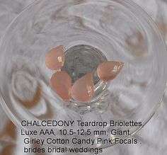 Cotton Candy Pink Chalcedony