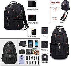 SwissGear Unisex Quality Backpack 15.6'' Laptop