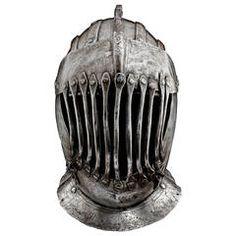 Rare Tournament Helmet for the Gioco Del Ponte in Pisa, circa 1590