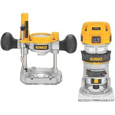 Variable Speed Compact Router Combo Kit with LED's DEWALT DWP611PK 1.25 HP Max Torque