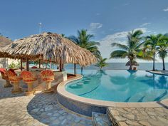 Almond Beach Resort, Belize.... Can't wait for our honeymoon!!