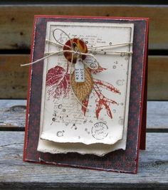 French Foliage Collage by Weekend Warrior - Cards and Paper Crafts at Splitcoaststampers