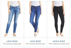 Fall is the perfect time to update your denim arsenal. After all, you'll be wearing jeans 24-7 from now until spring, so why not invest in a pair that fits & looks amazing? We've created a simple formula (we just love a great algorithm!) for finding jeans that flatter your figure—once and for all.