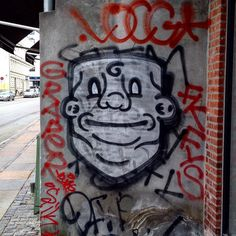 Where's your #neck bro? #streetart #copenhagenstreetart