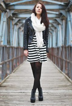 0e13455e9df2 Stripes (by Marie Schöniger) http   lookbook.nu look