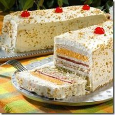 Receta de Sandwichon (ham and cheese cake) Sandwich Cake, Tea Sandwiches, Sandwichon Recipe, Tapas, Venezuelan Food, Cold Meals, Snacks, Savoury Cake, Mexican Food Recipes