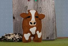 A New Sewing Pattern - Bessie the Cow