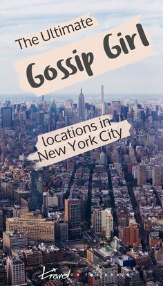 The Ultimate Gossip Girl New York Locations Guide (+ Video) Any true fan of the Upper East Side and its famous (fictitious) residents and xoxo stories Upper East Side, Empire State Building, Times Square, Gossip Girls, Hollywood Sign Hike, New York City Location, Nyc Go, New York City Travel, The Journey