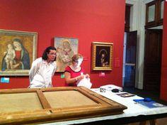 Ultima visita al Museo per vedere parte della collezione permanente, mentre proseguono i lavori di smontaggio