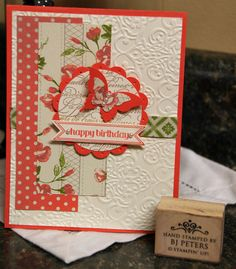 Stampin' Up!, BJ Peters, Tea for Two DSP, www.stampinbj.com