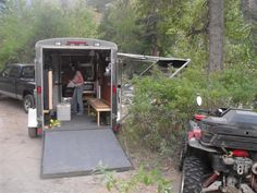 Teardrops n Tiny Travel Trailers • View topic - New guy with a 6X10 cargo toy hauler conversion