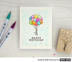 Build your birthday card stash with this fun and colorful design that's perfect for anyone!
