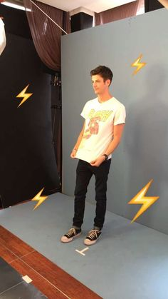 Grant Gustin, the flash, Comic Con San Diego 2016