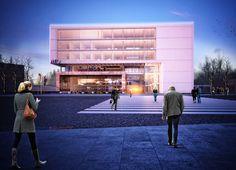 3.Ödül, Adana Ticaret Odası Hizmet Binası Mimari Proje Yarışması