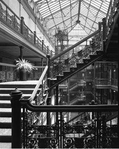 Bradbury Building, George Wyman, Los Angeles, California, 1893 — Julius Shulman