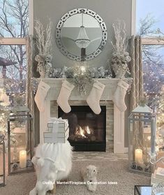 The fire place or mantel is located at a point focal to everyone's view. This should be taken as a factor in trying to make it look attractive to everyone who will be able to view it.