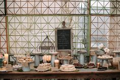 Brides: Sweet Dessert Table Ideas for Your Wedding Reception