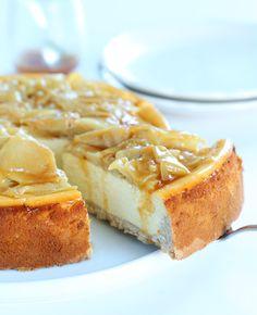 Apple Cinnamon Gluten Free Cheesecake