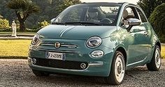 """Car manufacturers are often using the term """"game changer"""" in however that term really only relates to a small handful of cars. One of the vehicles that undoubtedly changed the motoring world was the [. Fiat 500 Cabrio, Small Caravans, Fiat 500 Lounge, New Fiat, Cute Cars, First Car, Love Car, Small Cars, Car Wheels"""