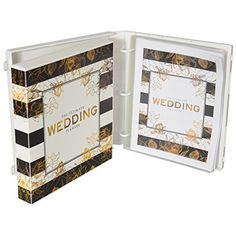 #Wedding Planning Kit - On Amazon http://amzn.to/1ET9Wxw   UniKeep's Wedding Planning Binder allows you to keep every aspect of your wedding easily accessible at any moment, storing all important documents and information, stress-free. The Wedding Planner Binder is recommended for any couple taking charge of their own wedding who wants to avoid a planning disaster. The 10 pages of content that are exclusive to UniKeep are extremely helpful for logging specific information such as a timeline…