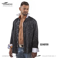 GERMENS Men's shirt »SCHIEFER«  © GERMENS ✄ www.germens.de  Photo: Dirk Hanus  2012