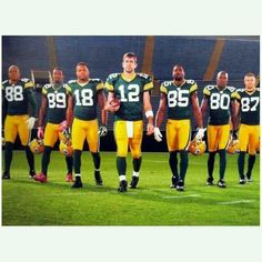 Packers! Love this!
