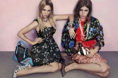 Miu Miu, Adele Exarchopoulos & Lea Seydoux #fashion #photoshoot