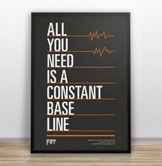 All you need is a constant base line via http://creativegreed.com